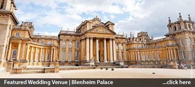blenheim palace featured wedding venue