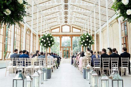 Kew Gardens Wedding Venue Exterior