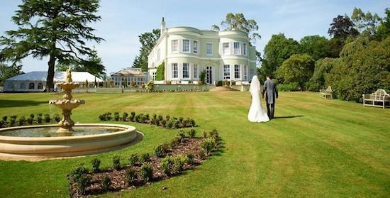 Deer Park Country House Hotel Bride and Groom