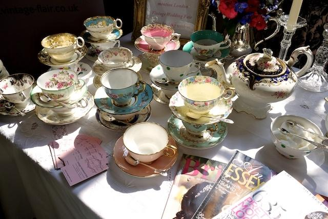 Vintage Tableware Hire