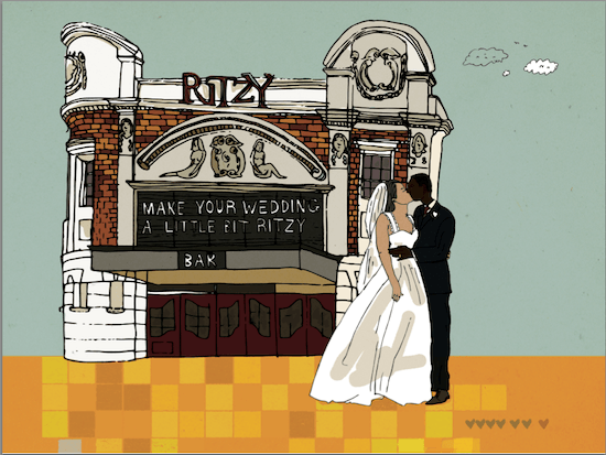 Wedding at The Ritzy Brixton