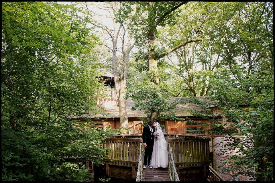 Unusual Wedding Venues Treehouse Study Centre Hampshire