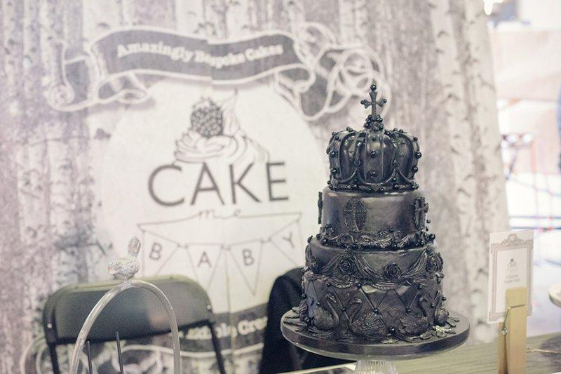 Wedding cake at The Most Curious Wedding fair