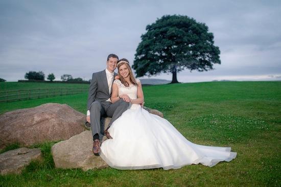 Olympic medallist Joanna Rowsell's wedding last summer