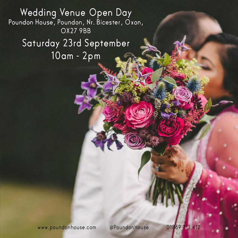 Forthcoming Wedding Open Days