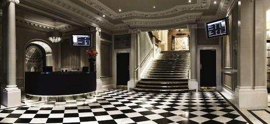 stairs Grand Connaught rooms
