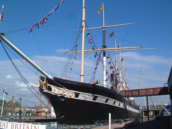 Brunel's SS Great Britain Wedding Venue