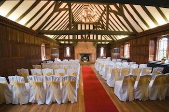 Leez Priory Great Hall