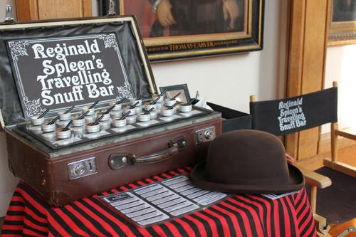 Reginald Spleen's Travelling Snuff Bar