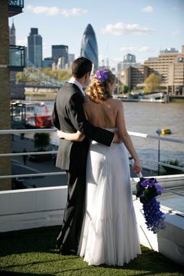 Fab London Wedding View